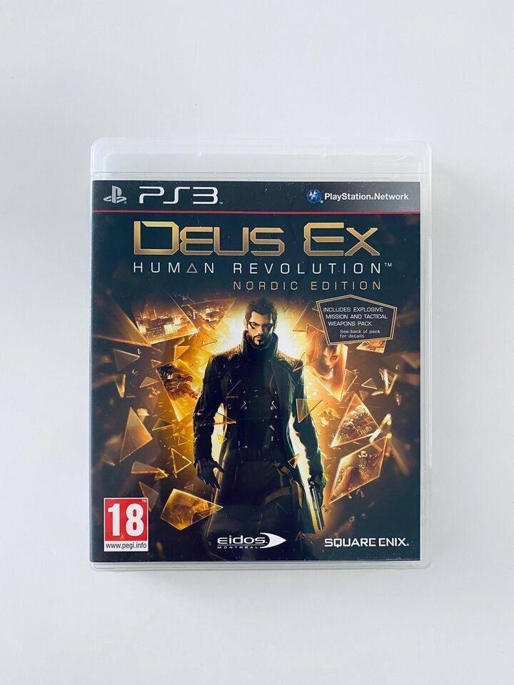 Deux Ex Human Revolution, PS3