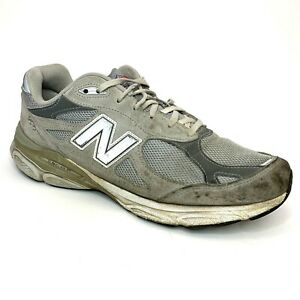 New-Balance-990v4-Running-Shoes-Mens-Size-11-US-Athletic-Grey-White-Made-in-USA