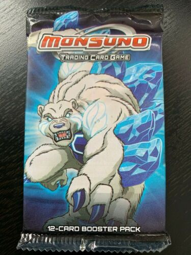 MONSUNO BOOSTER PACK 1 x PACKET OF 12 CARDS BRAND NEW AND SEALED
