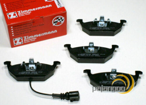 Audi A3 8P Zimmermann Bremsscheiben Bremsklötze für vorne hinten