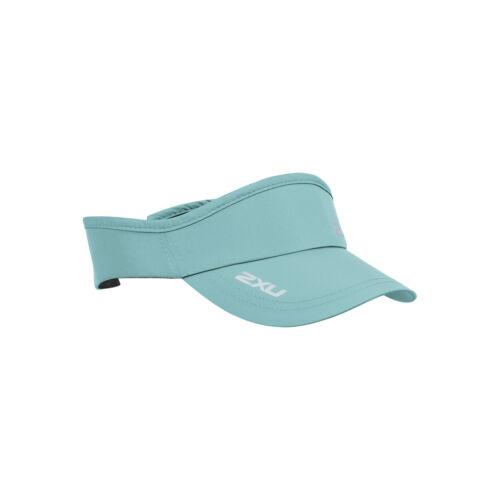 2XU Unisex Run Visor Aqua Splash Blau