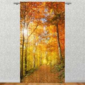 """Vorhang /""""Herbst/"""" 135 x 245 cmverdeckte Schlaufenblickdicht"""