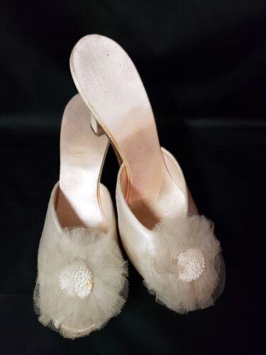 Vintage Daniel Green Bedroom Mules / Heels