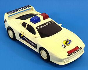 Catena-Fong-Polarcop-Elettronico-Auto-Giocattolo-Vintage-1980s-943BA