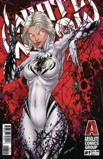 WHITE WIDOW #1 RED FOIL COVER ABSOLUTE COMICS GROUP COMIC BOOK SOLD OUT 2019