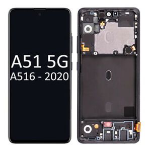 Samsung Galaxy A51 5G A516 2020 LCD Screen & Touch Screen with Frame Assembly