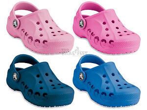 Crocs-Kids-Baya-Shoes-Choose-Colours-amp-Sizes-C4-5-J3-Childrens-Crocs