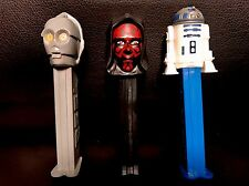 Star Wars™ EPISODE I The Phantom Menace PEZ DISPENSERS Character Collection