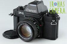 Canon New F-1 AE 35mm SLR Flim Camera + FD 50mm F/1.4 Lens #11061D4