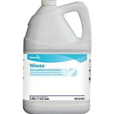 Diversey Wiwax Cleaning Amp Maintenance Emulsion 1 Gallon 4ct