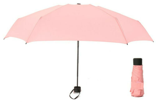 7 COLORS FREE SHIPPING Portable Mini Umbrella Pocket Sized Rain Ultralight