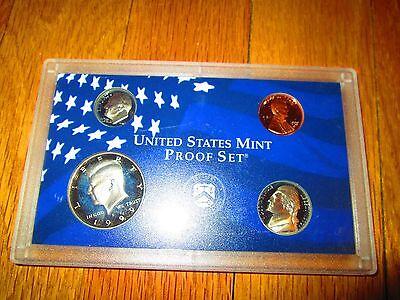 2007 Partial Proof Set 5 Coins U.S Mint Plastic  No Box No COA