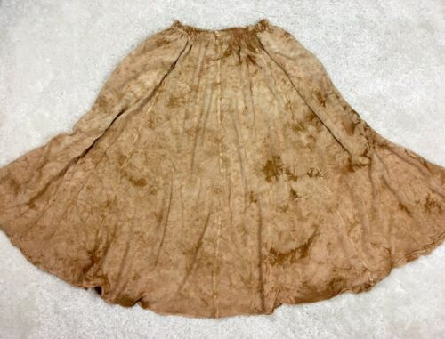 *READ One Size XS S M L Laise Adzer Brown Tie Dye… - image 1