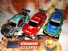 Carrera Go 3x DTM Auto Set BMW M3 / AUDI RS A5 / AMG MERCEDES Slotcar NEU