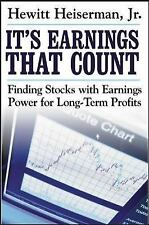 It's Earnings That Count : Finding Stocks with Earnings Power for Long-Term...