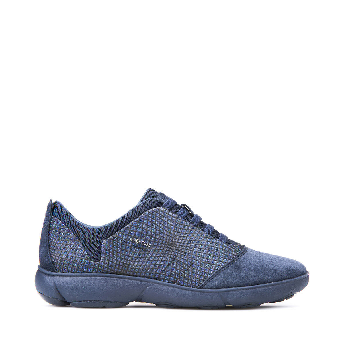 GEOX SCARPE DONNA NEBULA SNEAKERS SLIP-ON COMODE IN CAMOSCIO NAVY D741EA COMODE SLIP-ON 9d6bad