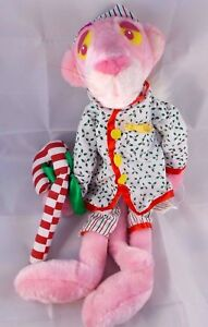 Pink-Panther-Christmas-Plush-Doll-17-034-1999-Stuffed-Animal