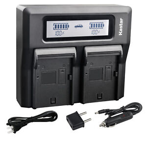 Amazon.com : Kastar Fast Dual LCD Charger + 2X Battery for