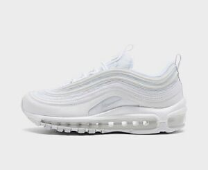 Details about NIKE AIR MAX 97 Triple White White Pure Platinum 921733-100  New Women ALL SIZES