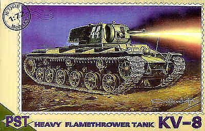 PST 1//72 KV-8 Heavy Flamethrower Tank # 72015##