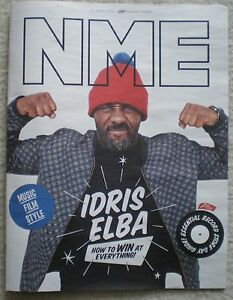 Idris Elba  NME magazine  15 April 2016 - London, London, United Kingdom - Idris Elba  NME magazine  15 April 2016 - London, London, United Kingdom