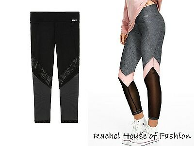 NWT Victoria/'s Secret PINK ULTIMATE MOTO ANKLE LEGGINGS Size S-M