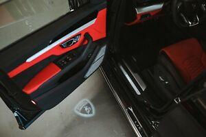 Lamborghini LED Door Lights (shield logo) Huracan & Urus OEM Accessory