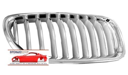 GRIGLIA RADIATORE DX O SX CROMATA//GRIGIA BMW SERIE 5 F10-F11 06//2013/>