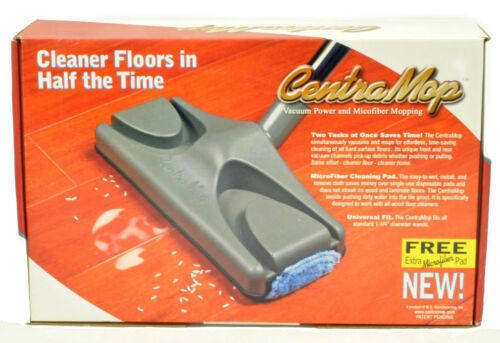 Central Vacuum CentraMop Vacuums and Wets Mops