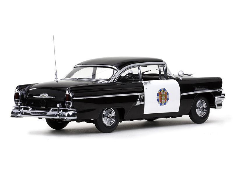 1956 Mercury Montclair Highway Patrol Police Car 1 18 Sunstar 5146