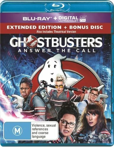 1 of 1 - Ghostbusters (Blu-ray, 2016)