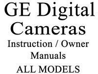 Ge Digital Imaging Camera Models