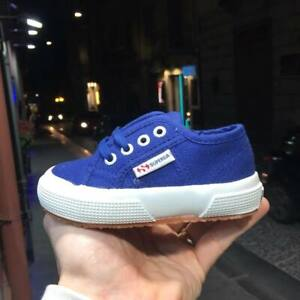 Scarpe-Superga-2750-colore-901-estate-2019-blu-cotu-clasi-tela-bambino-bambina