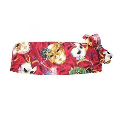 Mardi Gras Tapestry Cummerbund and Bow Tie Set