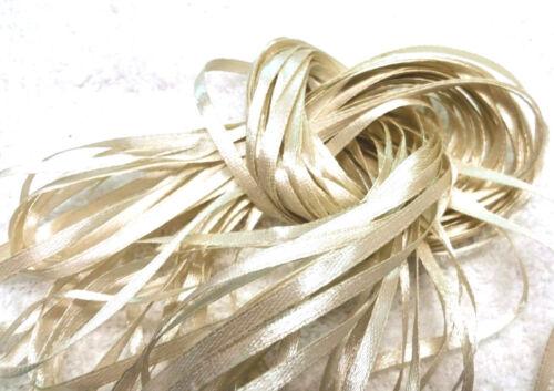 Antique Bridal Ivory 10 metres NARROW RIBBON Craft Ribbon