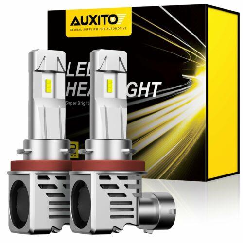 AUXITO 2x H11//H9//H8 9005//HB3 9006//HB4 9003//H4//HB2 LED Headlight Kit Light Bulbs