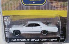 `67 Chevrolet Impala 4Door white 1967 **Greenlight Country 1:64 OVP  *SALE*