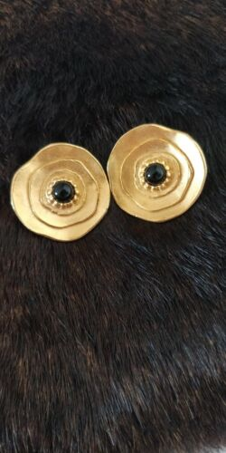 AUTHENTIC VINTAGE LANVIN earrings, made in Germany - image 1