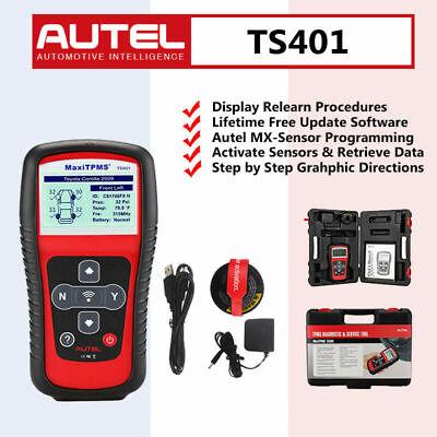 Autel TS501 TPMS Code Reader Scanner Activate Tire Pressure Sensor Better TS401