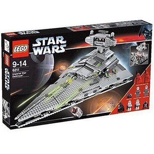LEGO Star Wars Wars Wars 6211 - Imperial Star Destroyer - Rarität - NEU & OVP & MISB 006fd0