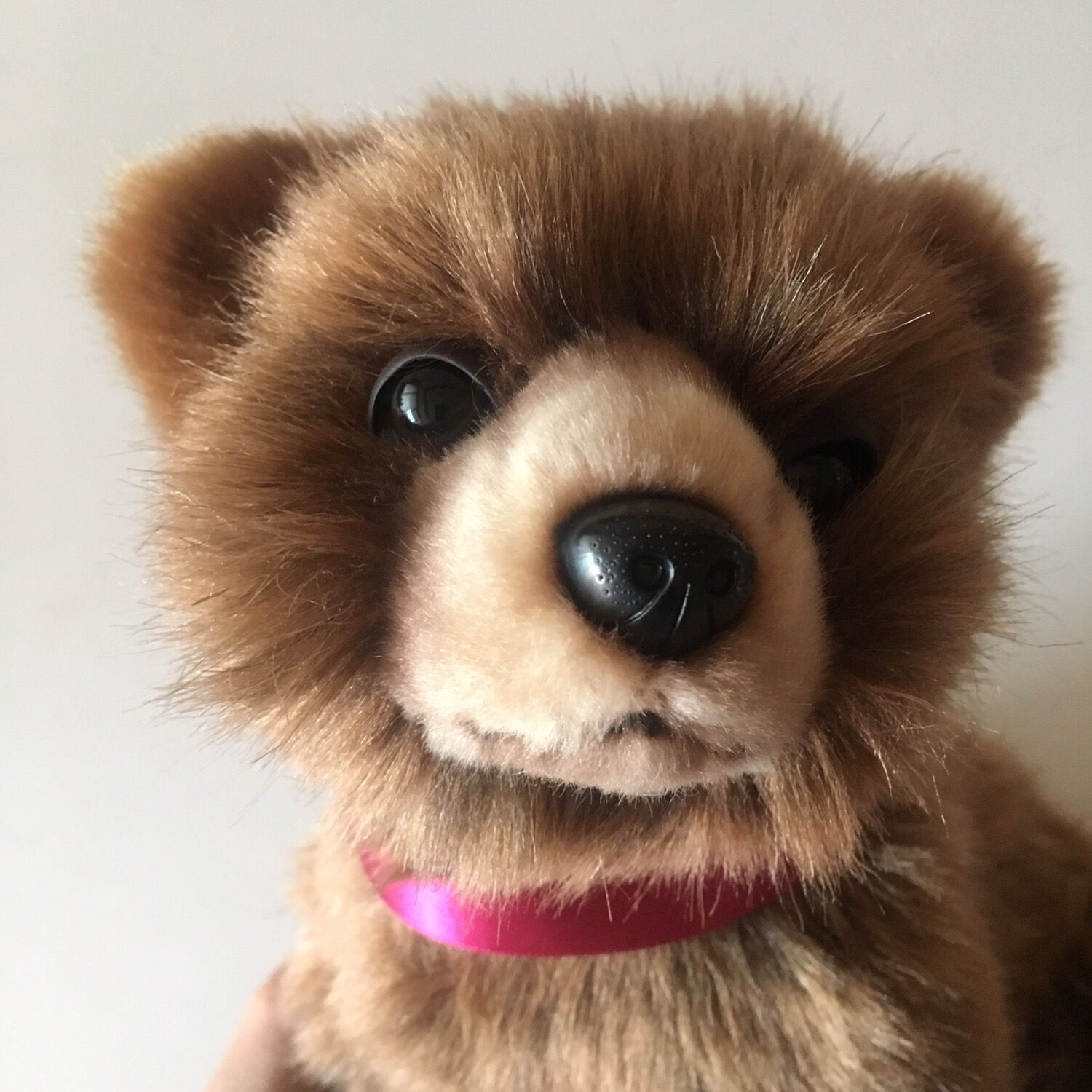 miss oh/ Toy Stofftier realistic Bear Cub Brown/24cm Grizzly Stuffed Plush Soft