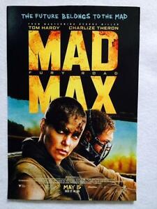 "Mad Max Fury Road Movie Poster Mini 11/""X17/"""