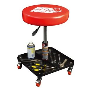 New adjustable hydraulic work shop stool creeper garage for Garage seat chartres