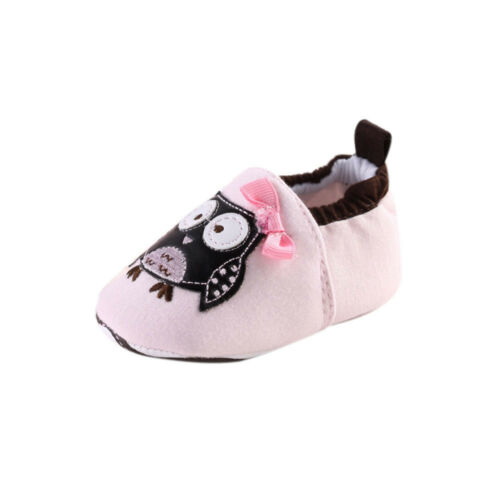 Baby Toddler Cartoon Bird Soft Sole Shoes Infant Boys Girls Crib Shoes Nonslip