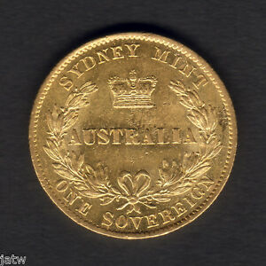 Australia-1867-Sydney-Mint-Sovereign-Near-Full-Lustre-gEF-aUNC
