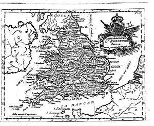 Antique-map-Carte-du-royaume-d-039-Angleterre