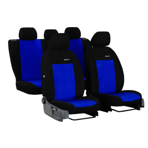 Coprisedili AUTO PER VOLVO v40 II 12-Blu Set Completo rivestimenti coprisedili auto