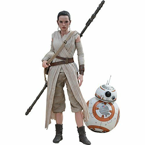 Star Wars Movie Masterpiece The Force Awakens REY & BB-8 1 6 Hot Toys F S