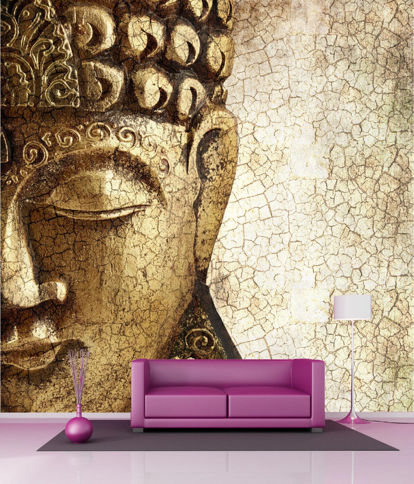 Papel Pintado Gigante Decoración Mural Buda Zen Ref 4531