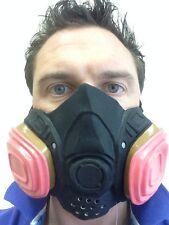 Breaking Gas Mask Hazmat Cook Bad Fancy Dress Walter Costume White Masks